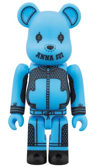 BE@RBRICK ANNA SUI 2014 100% ブルー