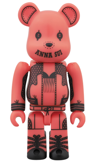 BE@RBRICK ANNA SUI 2014 100% ピンク