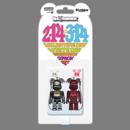 BE@RBRICK Birthday VALENTINE DAY & WHITE DAY 70%