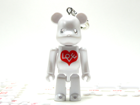 BE@RBRICK Birthday Happy BIANCO 70%