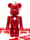 BE@RBRICK Birthday Happy EAMES RED 70%