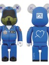 BE@RBRICK BLUE IMPULSE 400%