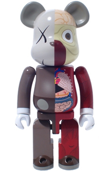 BE@RBRICK 超合金 KAWS OF COMPANION ver 200%