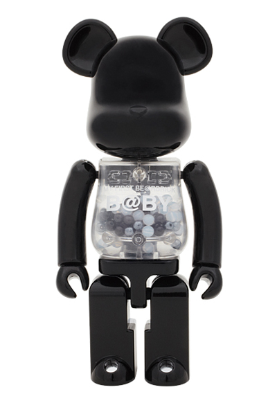 BE@RBRICK 超合金 MY FIRST BE@RBRICK B@BY BLACK & SILVER ver 200%