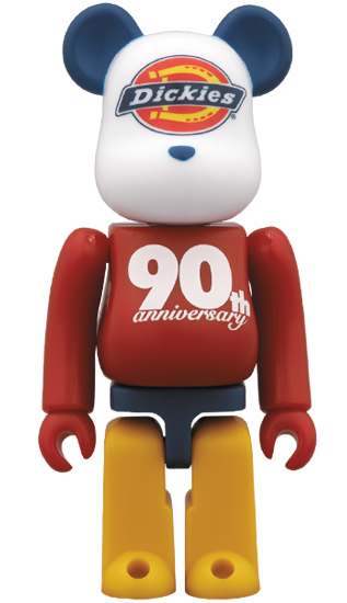 BE@RBRICK Dickies 90th LOGO Color Ver