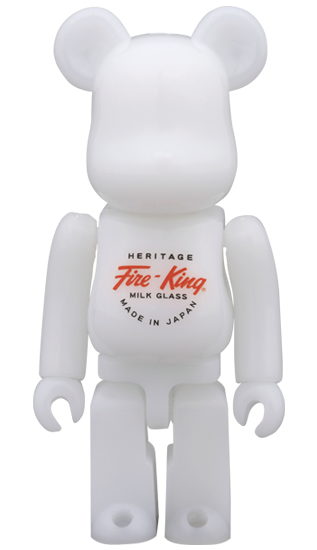 BE@RBRICK Fire-King 100% WHITE