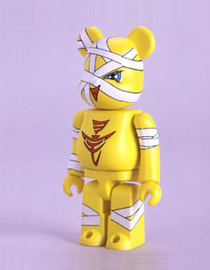 BE@RBRICK Flapper Yellow
