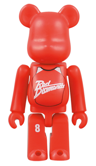 BE@RBRICK Gatorade 浦和レッド 70%