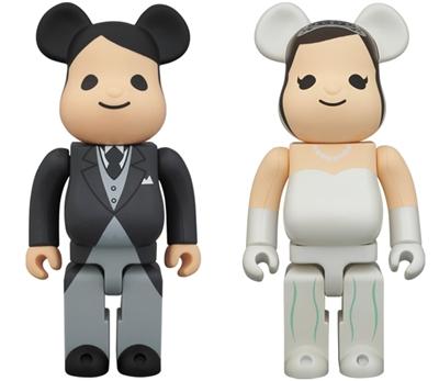 BE@RBRICK グリーティング 結婚 400%