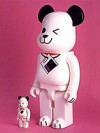 BE@RBRICK HMV DOG 400% WHITE