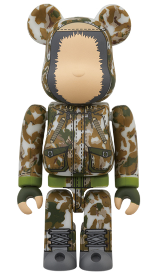 BE@RBRICK ISETAN MEN'S MEETS SPECIAL PRODUCT DESIGN WHITE MOUNTAINEERING