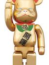 BE@RBRICK 招き猫 金メッキ 弐 400%