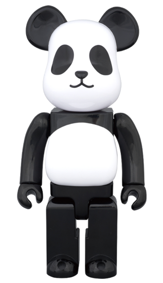 BE@RBRICK MILK PANDA BOY 400%