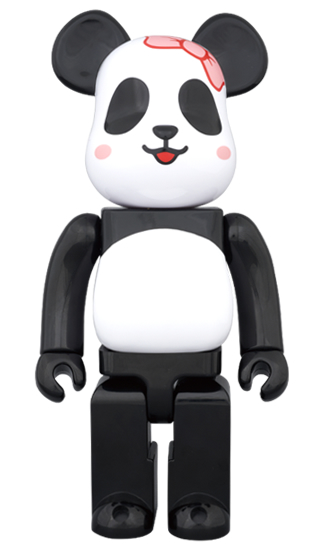 BE@RBRICK MILK PANDA GIRL 400%