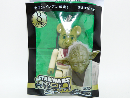 BE@RBRICK PEPSI NEX STAR WARS 3D Episode 1 70% Yoda