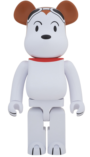 BE@RBRICK SNOOPY FLYING ACE 1000%