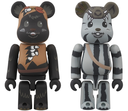 BE@RBRICK STAR WARS PAPLOO & TEEBO 2pc