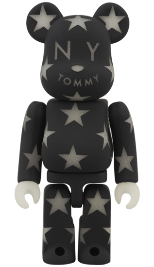 BE@RBRICK TOMMY STAR ブラック