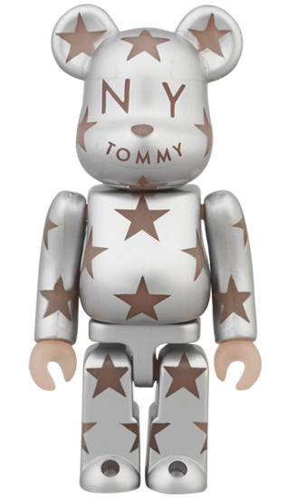BE@RBRICK TOMMY STAR シルバー