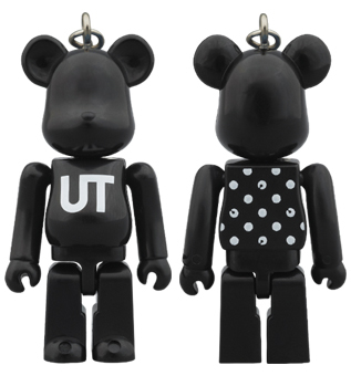 BE@RBRICK UNIQLO UT BLACK DOT 70%