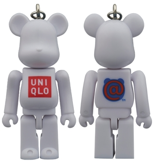 BE@RBRICK UNIQLO UT LOGO 70%