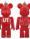 BE@RBRICK UNIQLO UT RED PATTERN 70%