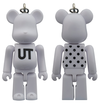 BE@RBRICK UNIQLO UT WHITE DOT 70%