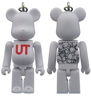 BE@RBRICK UNIQLO UT WHITE PATTERN 70%