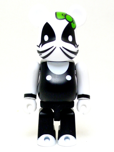 BE@RBRICK SERIES 25 裏CUTE KISS KELLO KITTY THE CATMAN